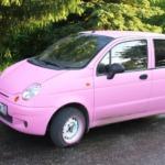 Daewoo Matiz представляет автомашину для девушек со скромным бюджетном