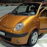 Daweoo Matiz дешевая машина для девушки