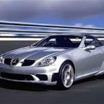 Идеальная машина для девушки - дорогой кабриолет Mercedes SLK