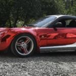 Smart Roadster - яркая машина для дерзких женщин