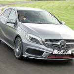 Mercedes A-class AMG топ автомобилей для низких девушек