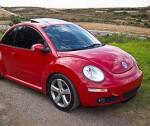 Volkswagen new beetle - маленькая женская машинка