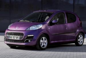 Peugeot 107 — этот автомобиль подойдет девушке, у которой нет потребности в большом объеме багажника