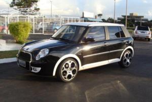 Lifan Smily внешне скопирован с Mini Coopera от концерна BMW
