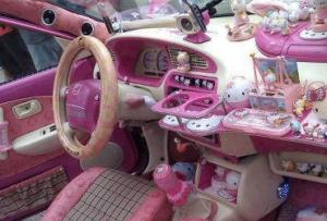 Женские чехлы для автомобиля
