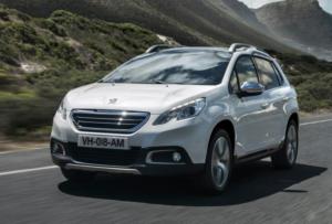 Относительно новая модель - Peugeot 2008